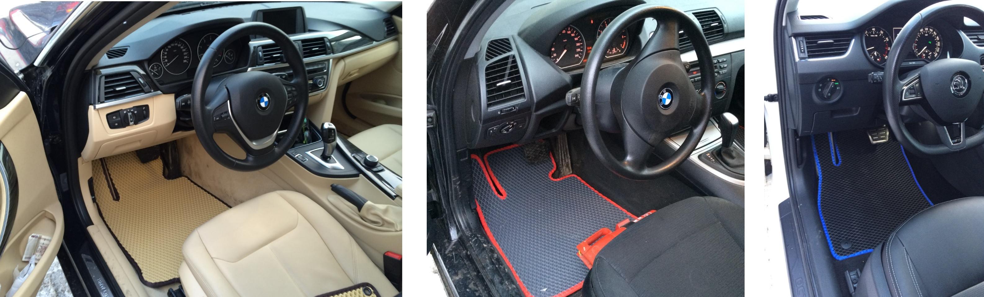 Автомобильные коврики EVA от NG Carpets